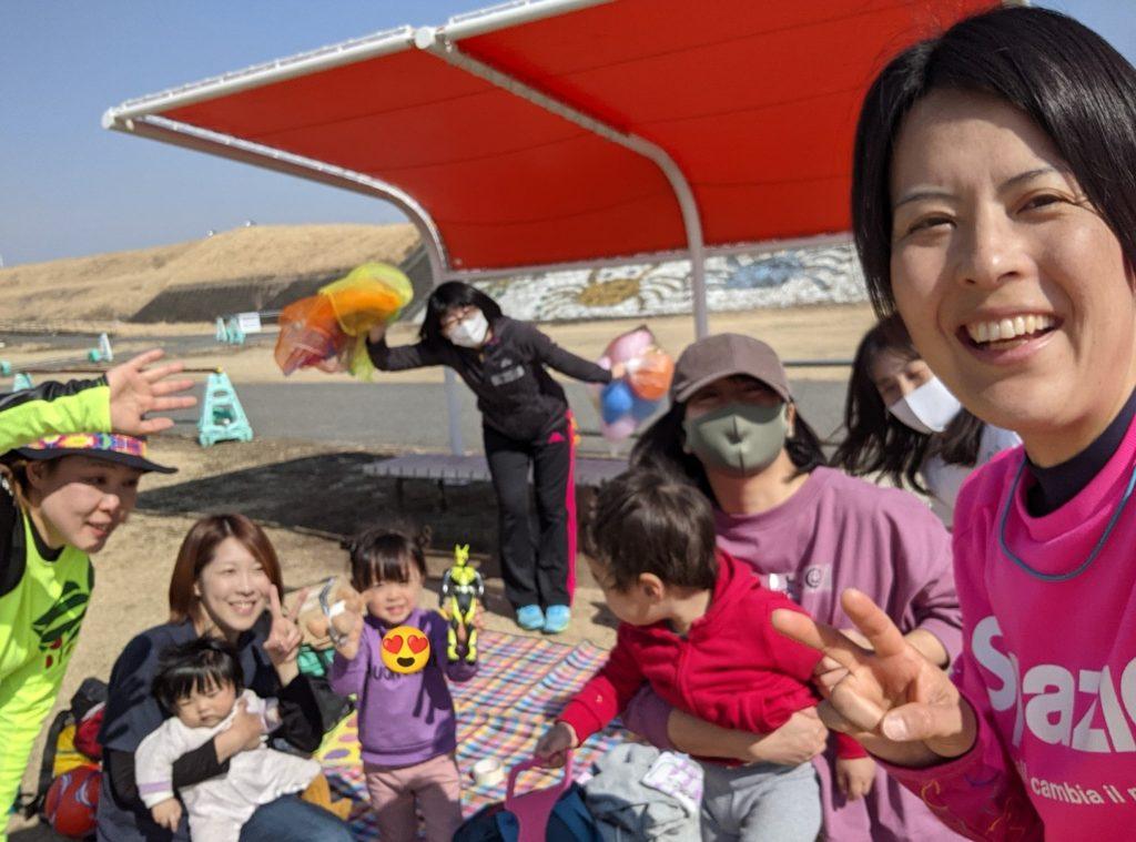 2021/2/22「ママと子どもの英語de運動あそび&褒め褒めフットサル教室」開催しました。