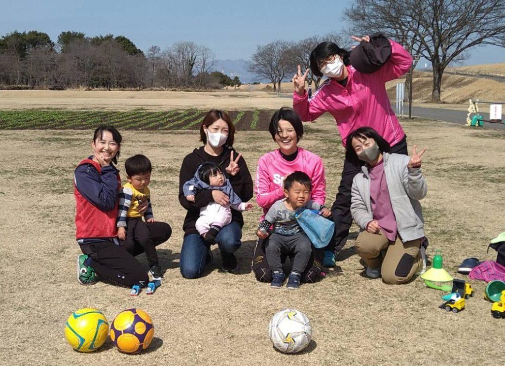 2021/3/11【ママと子どもの英語de運動あそび】&【褒め褒めフットサル教室】開催しました